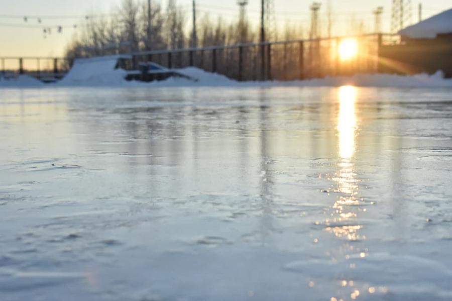 Началась подготовка муниципальных катков к новому ледовому сезону